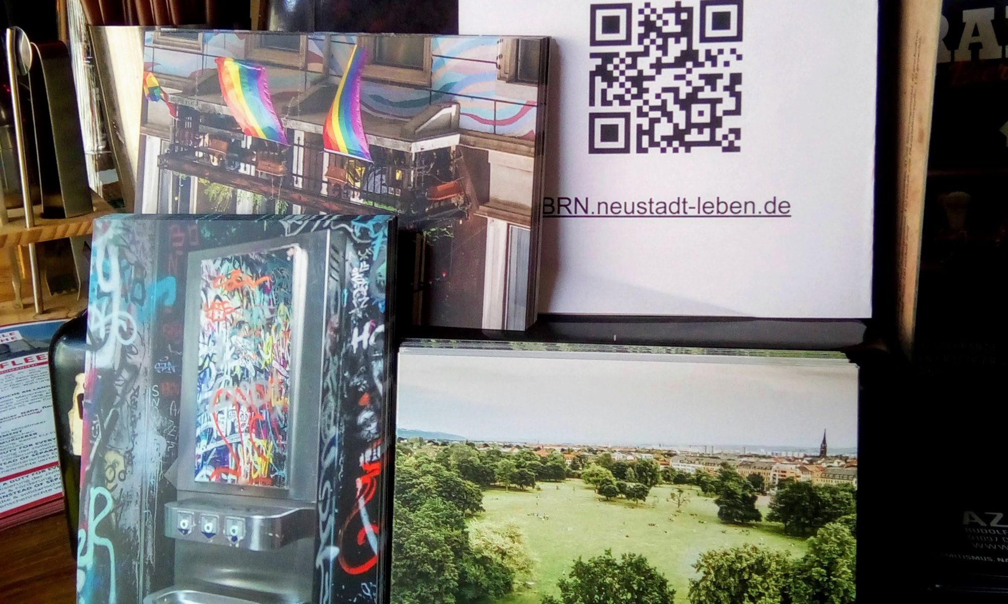 Postkarten der Dresdner Neustadt